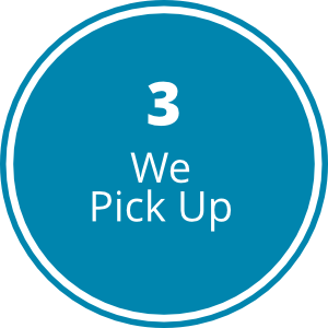 Step3- We Pick Up