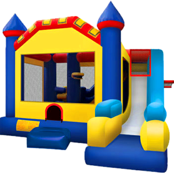 Castle Combo Jump House & Slide