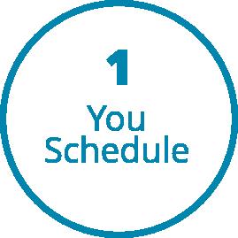 Step1-Call & Schedule