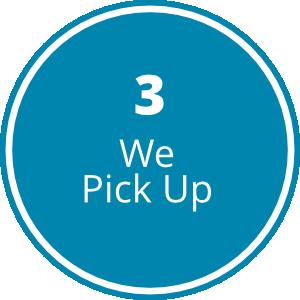 Step3- We Pick Up