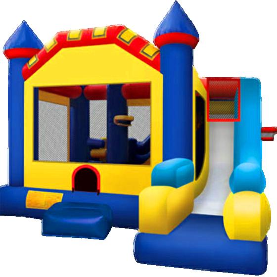 Castle Combo Jump House & Slide